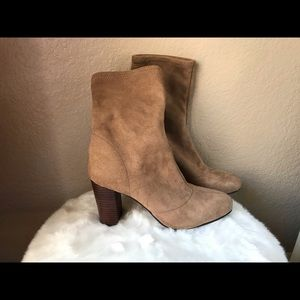 Vince Camuto nude Sendra booties 9.5